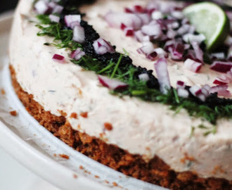 24. luukku: Smoked Salmon Cheesecake