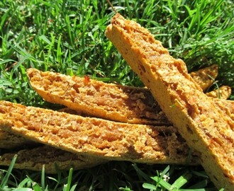 sweet potato chicken biscotti