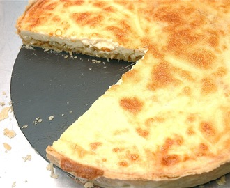 Onion & Parmesan Tart (Quiche)