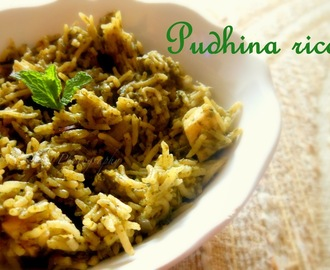 Pudhina Rice - Mint Rice