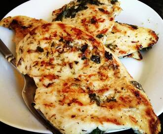 Quick and Easy Garlic & Herb Grilled Chicken Marinade