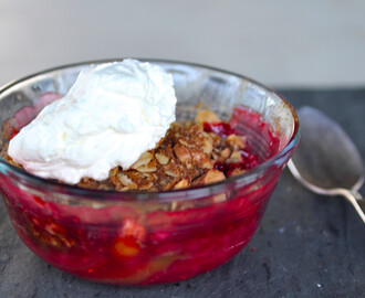 Red Fruit Mini Crumbles