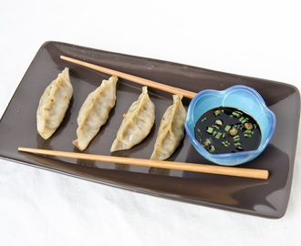 Vegetarian Gyoza (Japanese Dumplings)