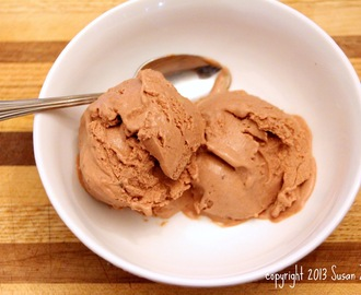 Chocolate Frozen Greek Yogurt