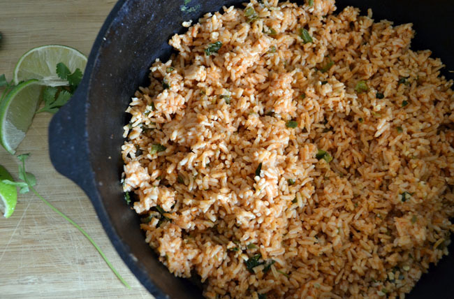 And Here It Is: The Best Mexican Rice Ever!