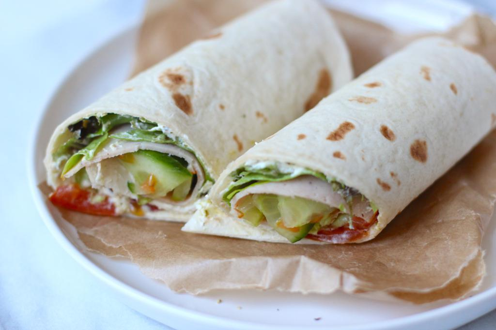 Lunch wrap tips