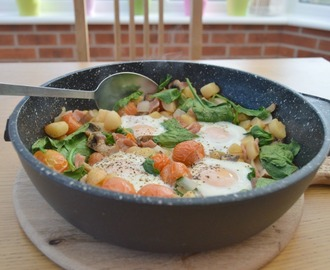 One Pan Healthy Breakfast Makeover #shortcuteggspert