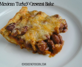 Mexican Turkey Crescent Bake
