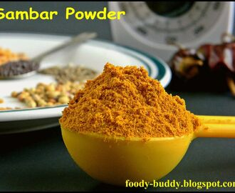 Sambar Powder / Sambhar Podi/ Curry Powder