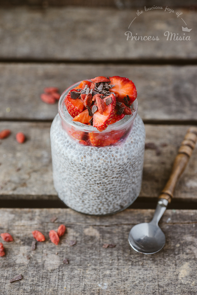 Chia Pudding With Almond Milk & Cinnamon