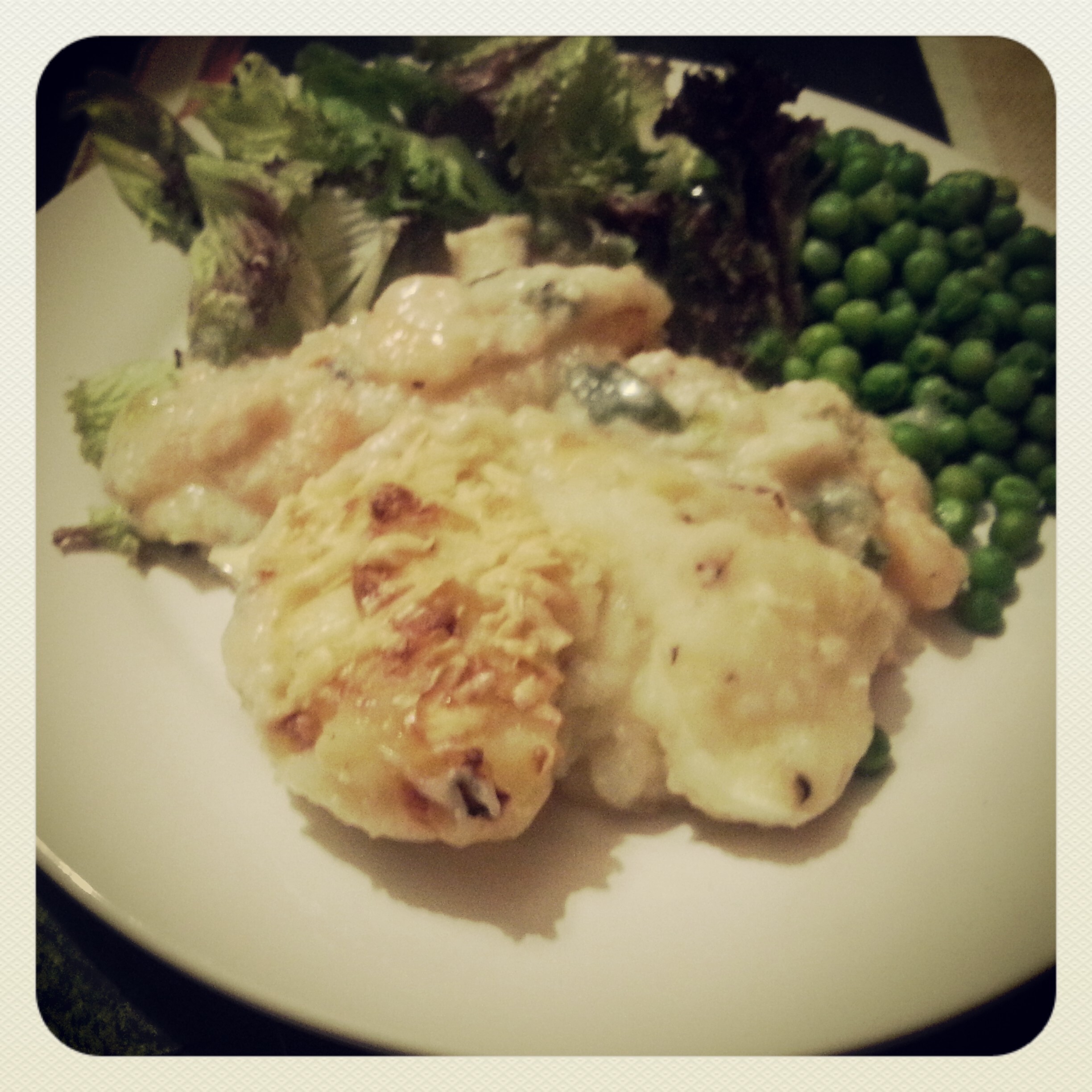 Cheesy Fish Pie