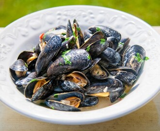 Mussels with Chilli, Lime & Coriander