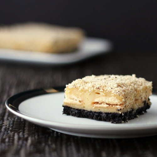 If Boston Cream Pie met Tiramisu and Cheesecake in a dark alley ...