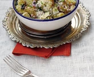 Omenainen perunasalaatti / My favorite potato salad