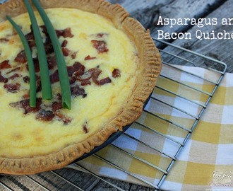 Asparagus and Bacon Quiche Recipe