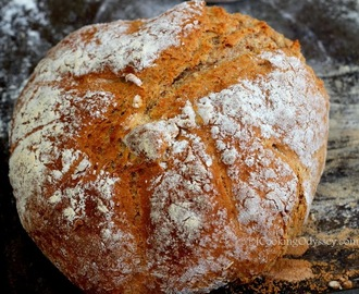 Rosemary and Sun Dried tomato Buckwheat soda bread #homemadebread #baking #buckwheat #aroma