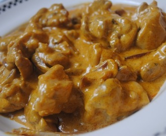 Simple chicken korma curry recipe for students