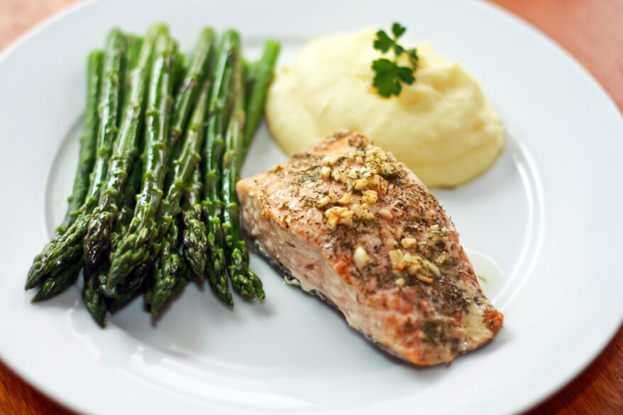 Perfect Garlic Dill Baked Salmon