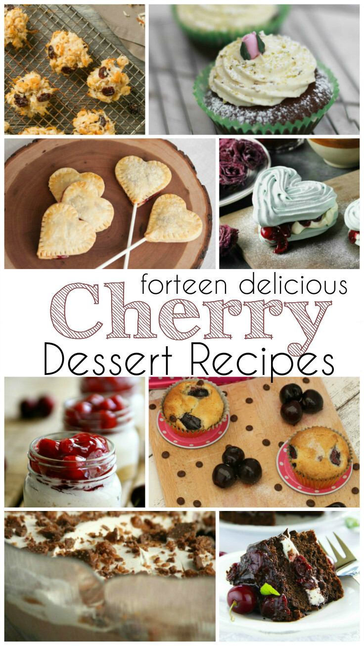 Cherry Recipes for Valentines Desserts and Treats
