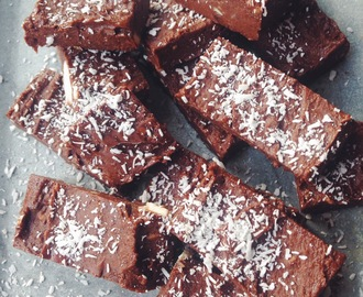 Healthy Brownies met amandelen