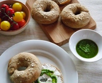 Foodblogswap: Havermout bagels