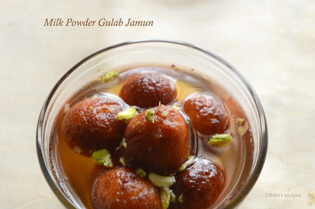 Milk Powder Gulab Jamun | Festive Sweet Recipe | Video Recipe