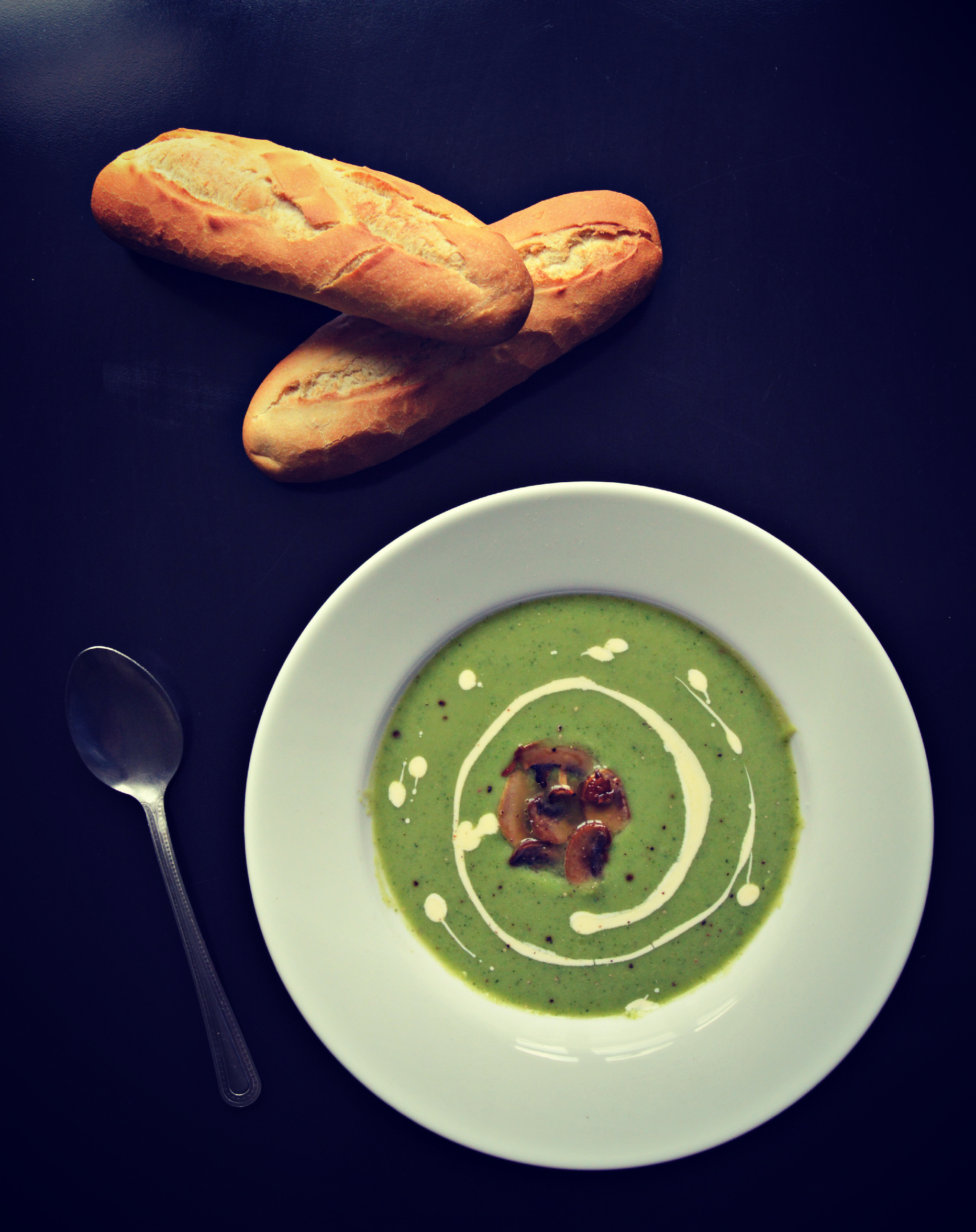 Recipe of the week – Cream of Broccoli Soup with Mushrooms