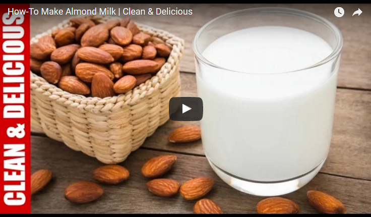 Almond Milk Recipe Video