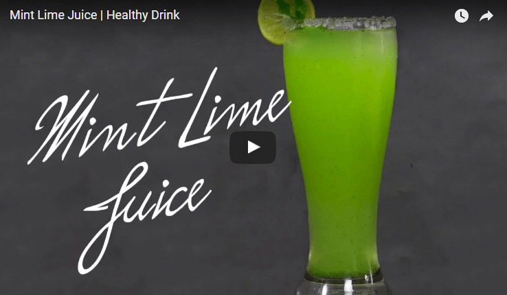 Mint juice Recipe Video
