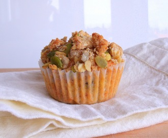 Sedgewick: Carrot, Apple and Pecan Muffins