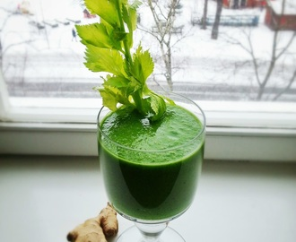 Super powerful green smoothie