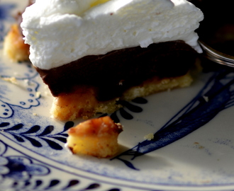 Re cake 2 – Cream, chocolate and salted caramel tart….