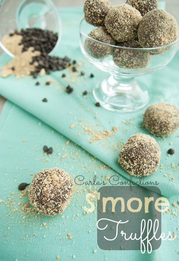 (No-Bake) S'more Truffles