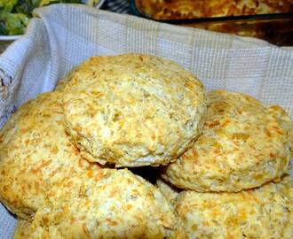 Create Savory Irish Scones with #FreshTake Cheddar Jack & Bacon