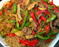 Japchae (Korean Noodles) Recipe