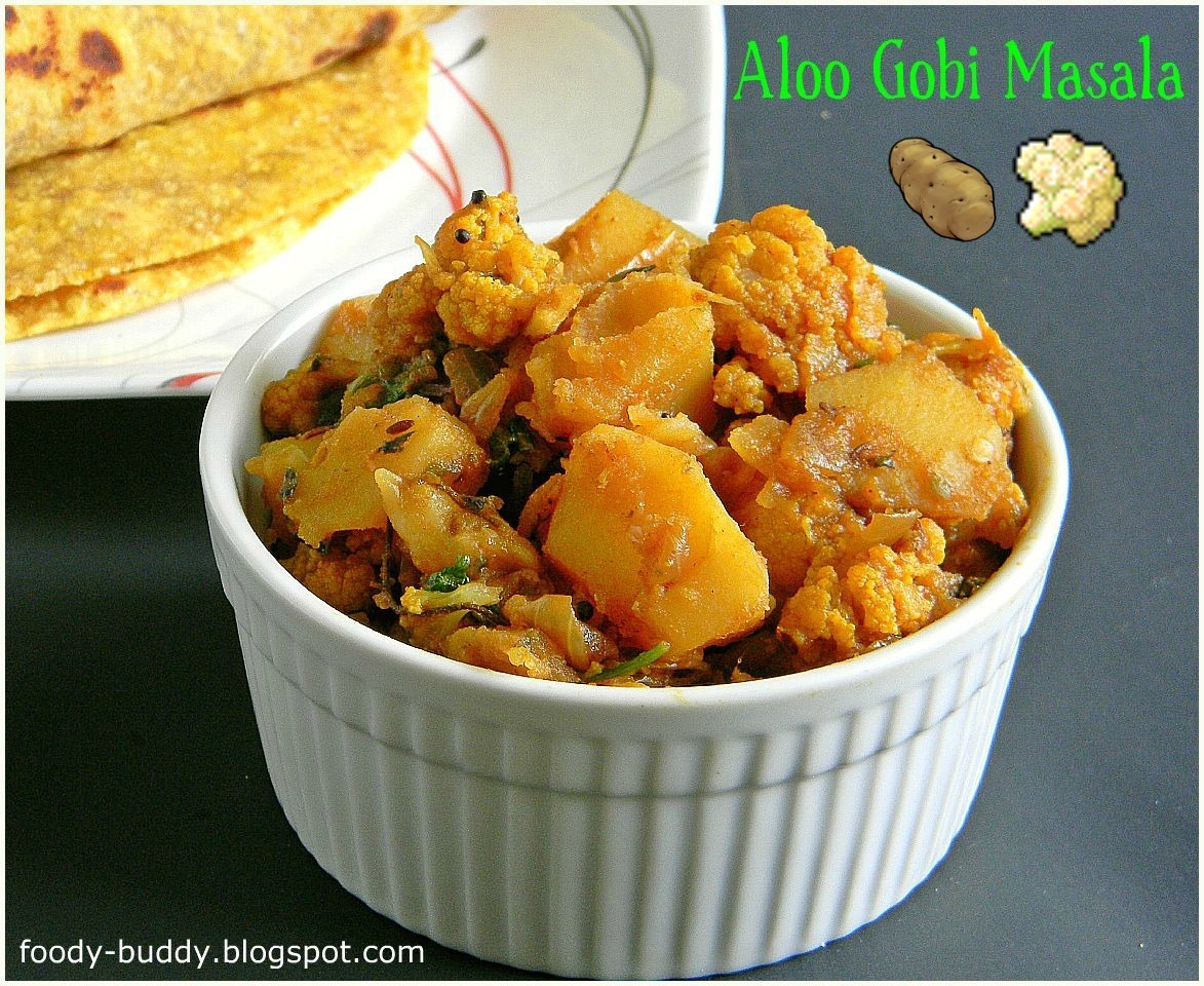 Aloo Gobi Masala / Potato Cauliflower Curry