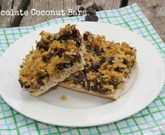 Healthier Desserts – Chocolate Coconut Bars Recipe