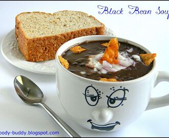 Easy Black Bean Soup Recipe