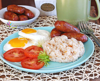 LongSiLog(Sweet Sausage, Egg and Garlic Fried Rice)