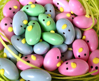 Easter Jordan Almonds Chicks