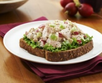 Crunchy Tuna and Radish Salad Sandwich Video