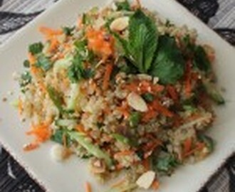 Thai Inspired Quinoa Salad