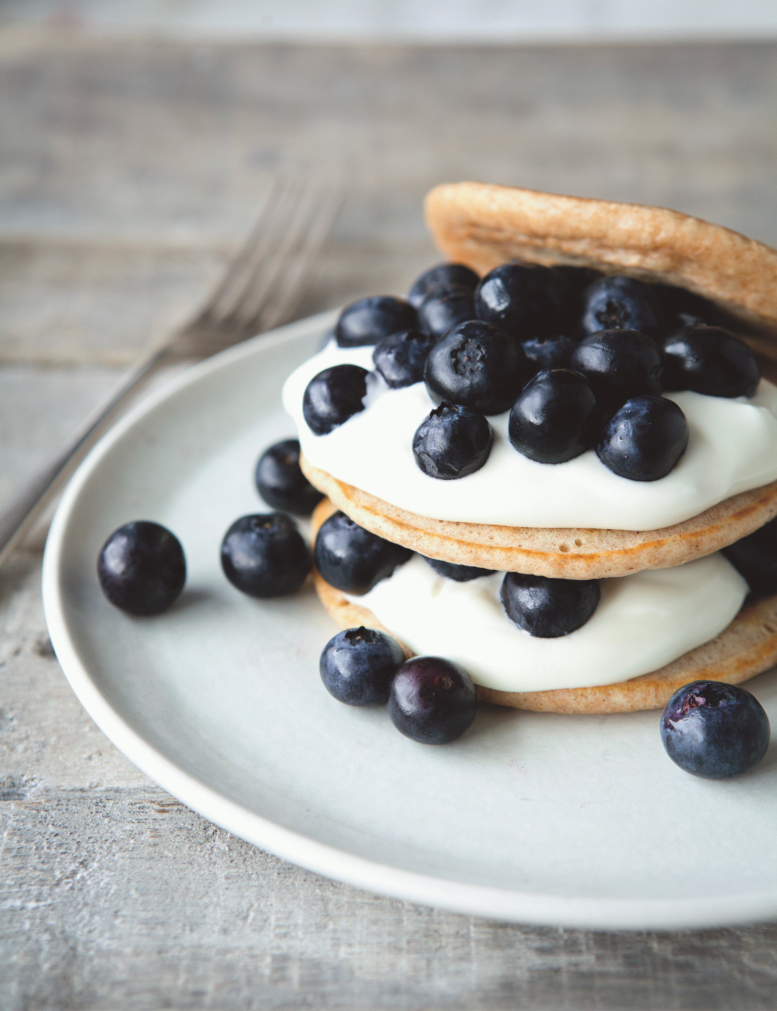 Davina McCalls Fluffy Pancakes & #Win with the Good Food Eat Well Show