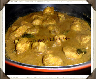 Chicken Curry in 20 minutes
