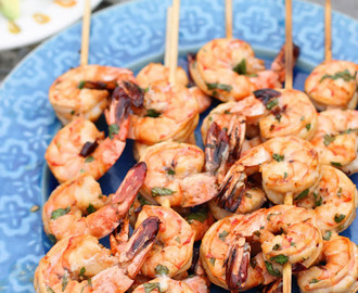 Chili Lime Marinated Shrimp