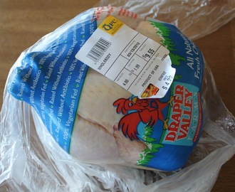 Whole chickens for $0.88/lb through 3/12 at QFC
