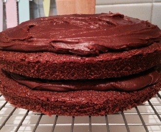 Chocolate orange cake (Dairy and gluten free)