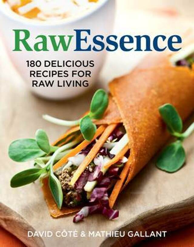 Friday Favourite: RawEssence Cookbook - 180 Delicious Recipes for Raw Living & 150 Best Desserts in a Jar