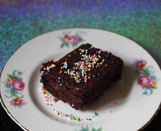 Vegan Deluxe Chocolate Brownies with Zulka Morena Pure Cane Sugar