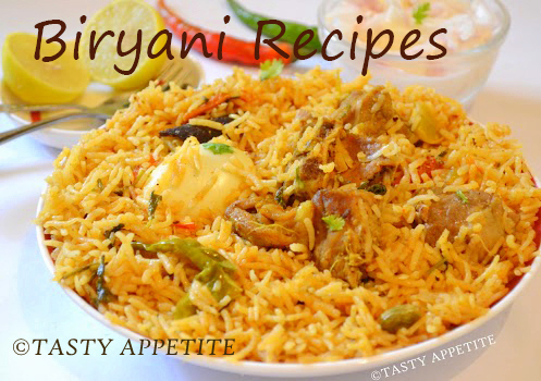 BIRYANI RECIPES / BIRYANI RECIPE COLLECTIONS / INDIAN BIRYANI RECIPES / NON-VEGETARIAN